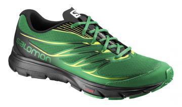 Salomon Sense Link (férfi) futócipő (zöld-sárga-fekete) e5ce464adf