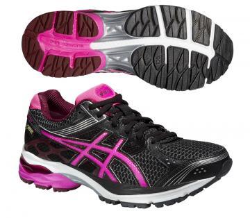 Asics Gel-Pulse 7 GTX (női) futócipő (fekete-pink-burgundi) ec35eb27d0