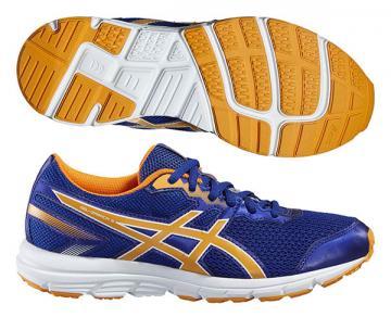 49aeff0058 Asics Gel-Zaraca 5 GS (junior) utcai futócipő (kék-narancs-fehér)