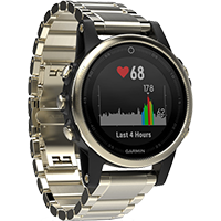 Garmin Fenix 5S HR GPS-es multisport óra d53872710d