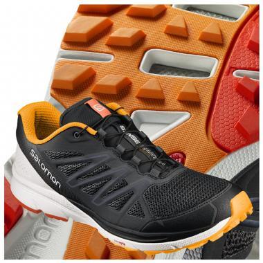 Salomon Sense Marin (férfi) futócipő (fekete-fehér-narancs) L39466300 810a780cd1
