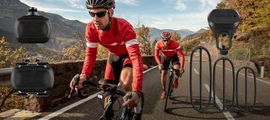 Kerékpározáshoz javasoljuk sebesség- és pedálfordulat érzékelők használatát