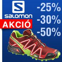 1f09f18e86 Salomon terep-futócipő akció akár -50% kedvezménnyel is